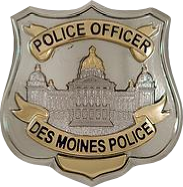 iowa police badge