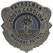 south carolina cop badge